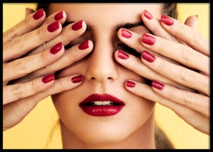 Red Nails Poster