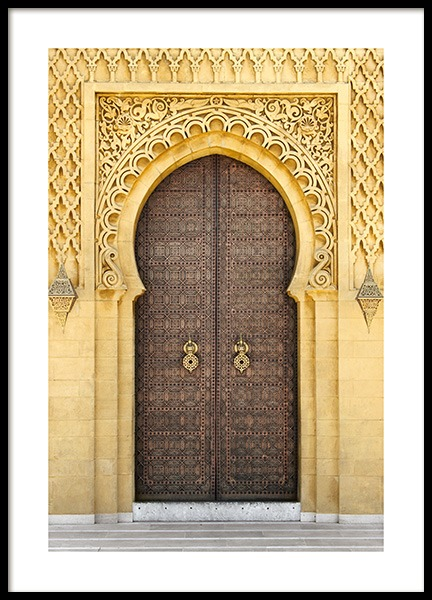 Oriental Door Poster in the group Posters & Prints / Photography at Desenio AB (12863)