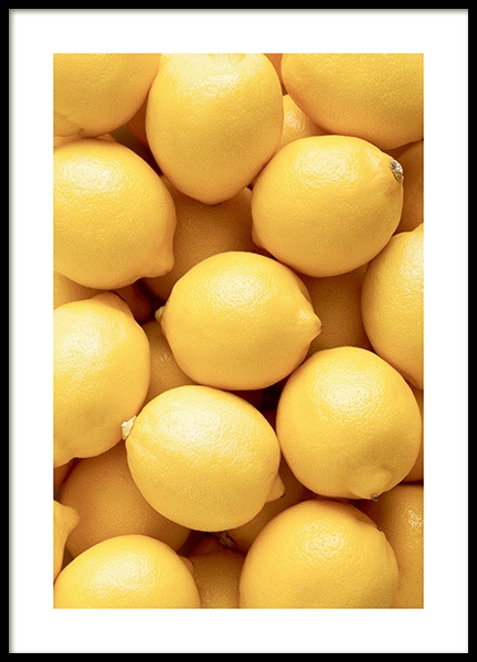 Lemons Poster in the group Posters & Prints / Kitchen at Desenio AB (12865)