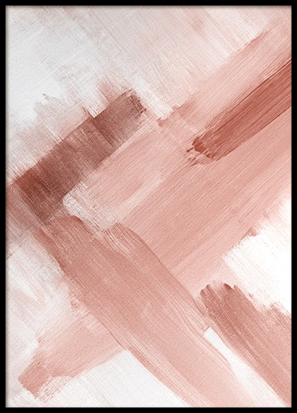 Abstract Painting Pink No2 Poster in the group Posters & Prints / Art prints at Desenio AB (12895)