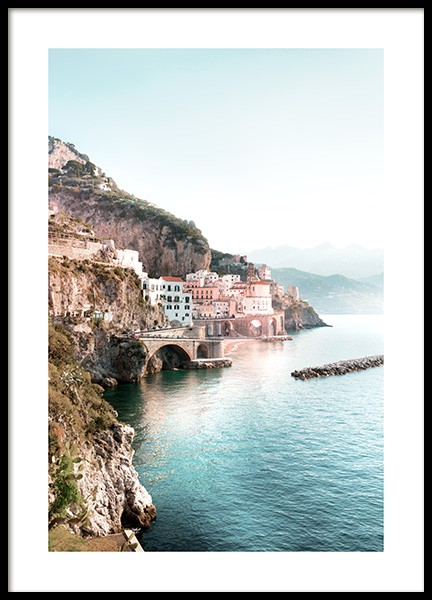 Amalfi View Poster in the group Posters & Prints / Nature at Desenio AB (12930)