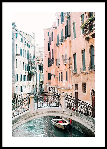 Canal in Venice Poster in the group Posters & Prints / Photography at Desenio AB (12932)