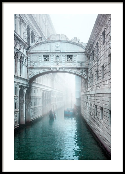 Venice Bridge Poster in the group Posters & Prints / Photography at Desenio AB (12933)