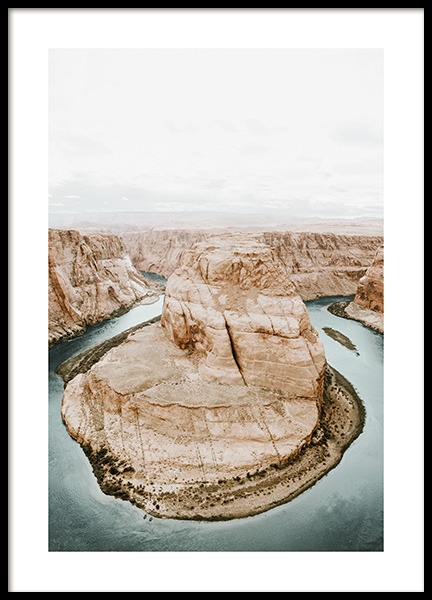 Horseshoe Bend Poster in the group Posters & Prints / Studio Collections / Studio Serenity at Desenio AB (12976)