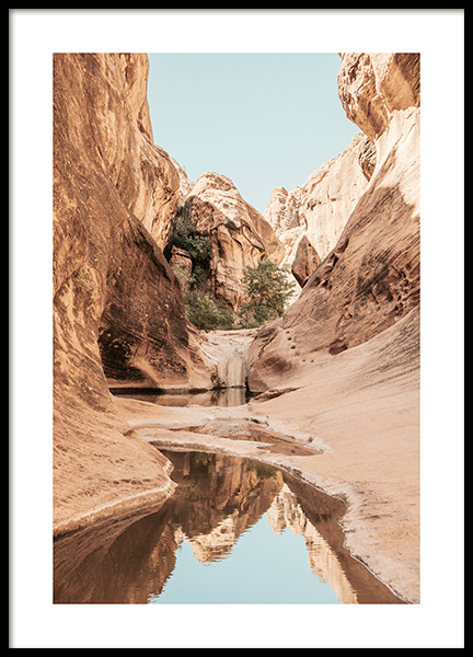 Red Cliffs Poster in the group Posters & Prints / Nature at Desenio AB (12979)