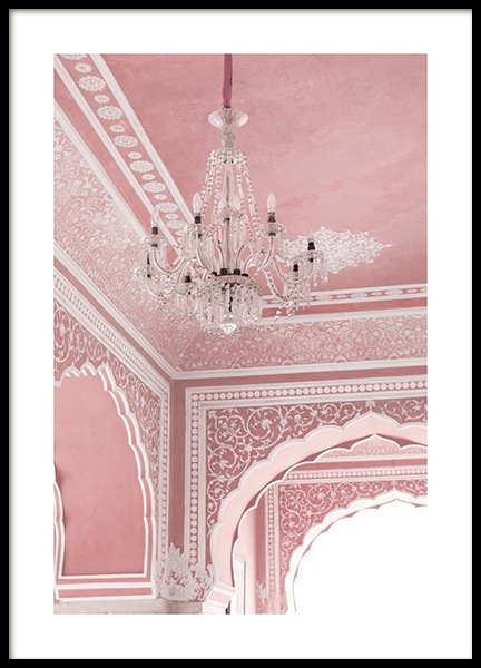 Pink Palace Poster in the group Posters & Prints / Photography at Desenio AB (13001)