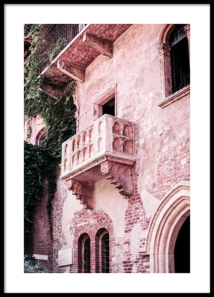 Juliet's Balcony Poster in the group Posters & Prints / Photography at Desenio AB (13002)