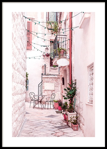 Alley of Polignano Poster in the group Posters & Prints / Photography at Desenio AB (13004)