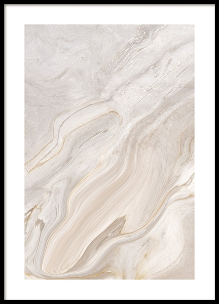 Abstract Marble Poster in the group Posters & Prints / Photography at Desenio AB (13013)