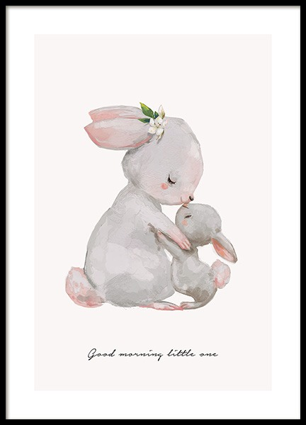 Good Morning Little One Poster in the group Posters & Prints / Kids posters at Desenio AB (13072)