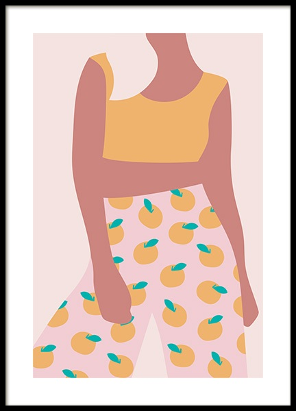 Lemon Girl Poster in the group Posters & Prints / Art prints at Desenio AB (13097)