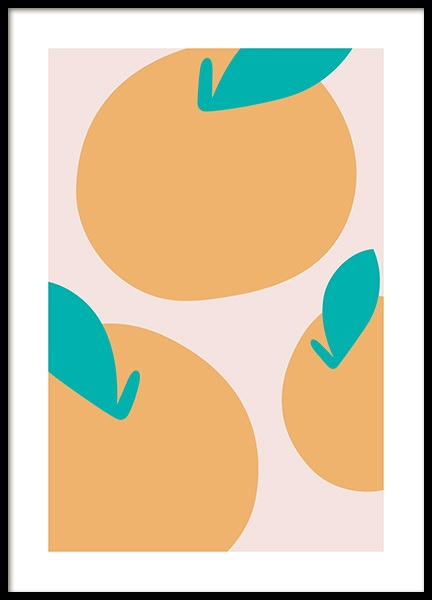 Abstract Lemons Poster in the group Posters & Prints / Art prints at Desenio AB (13098)