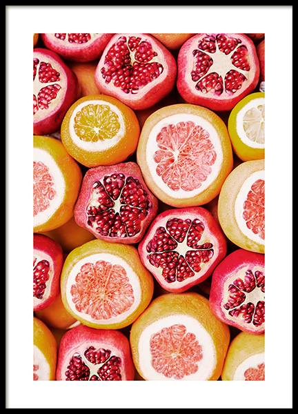 Exotic Fruits Poster in the group Posters & Prints / Kitchen at Desenio AB (13103)