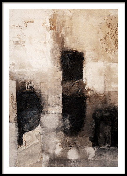 Beige Art Poster in the group Posters & Prints / Art prints at Desenio AB (13160)