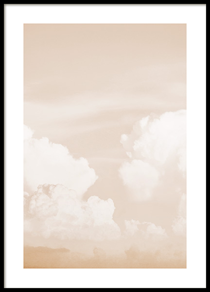 Clouds in Sky Poster in the group Posters & Prints / Nature at Desenio AB (13200)
