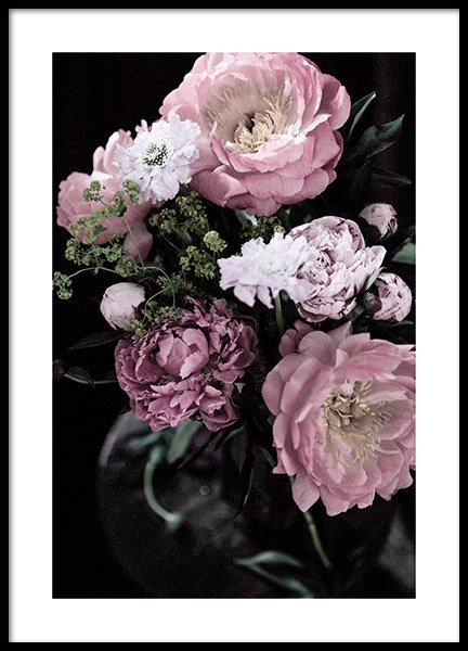 Dark Flowers No2 Poster in the group Posters & Prints / Photography at Desenio AB (13213)