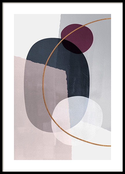 Abstract Color Blocks No2 Poster in the group Posters & Prints / Art prints at Desenio AB (13227)