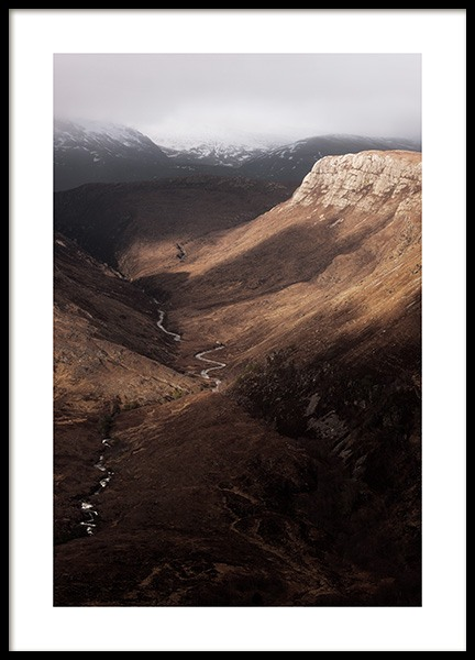 Beinn Eighe Nature Reserve Poster in the group Posters & Prints / Nature at Desenio AB (13230)
