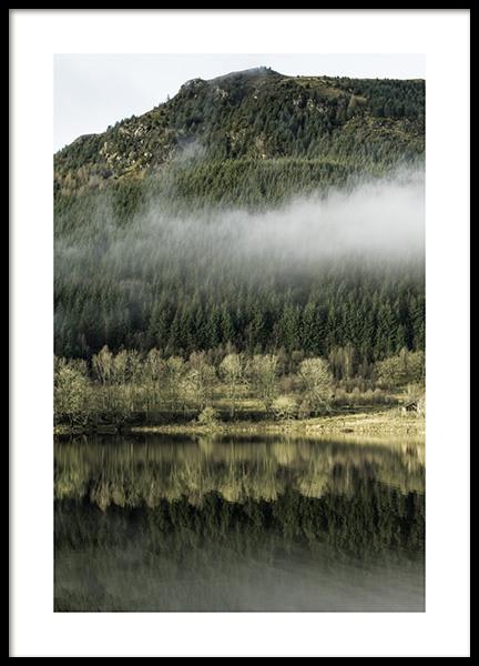 Loch Lomond View Poster