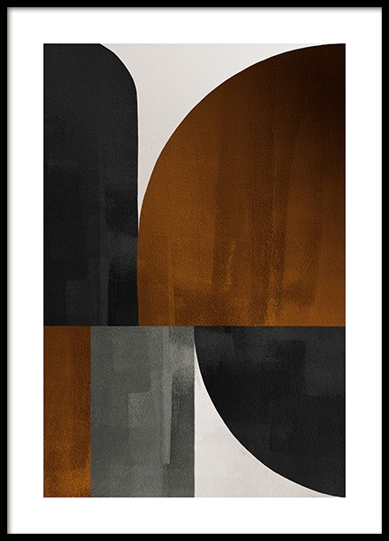Weimar Shapes No2 Poster in the group Posters & Prints / Art prints at Desenio AB (13287)