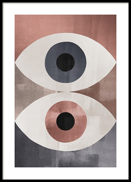 Dessau Eyes Poster in the group Posters & Prints / Art prints at Desenio AB (13288)