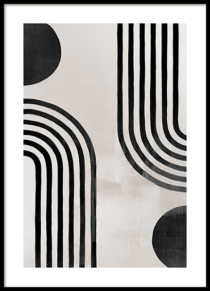 Berlin Arches No1 Poster