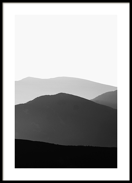 Carpathian Mountains No1 Poster in the group Posters & Prints / Nature at Desenio AB (13326)