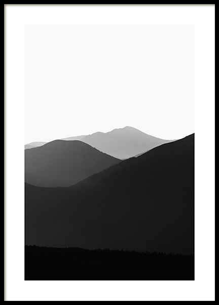Carpathian Mountains No2 Poster in the group Posters & Prints / Nature at Desenio AB (13327)