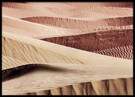 Desert Sand Dunes Poster in the group Posters & Prints / Nature / Deserts at Desenio AB (13415)