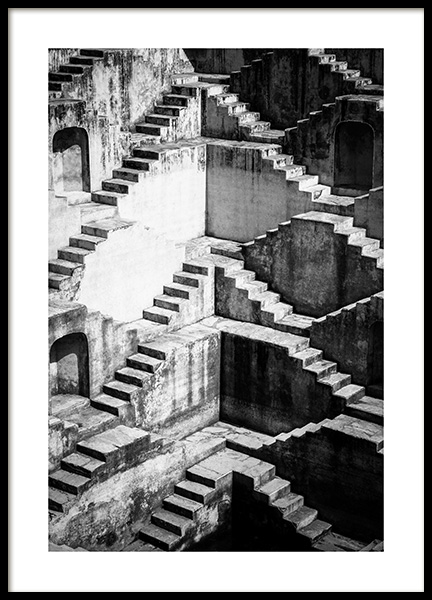 Step Wall Poster in the group Posters & Prints / Photography / Architecture  at Desenio AB (13496)