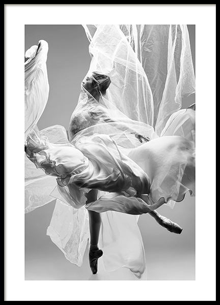 Graceful Ballerina Poster in the group Posters & Prints / Photography at Desenio AB (13549)