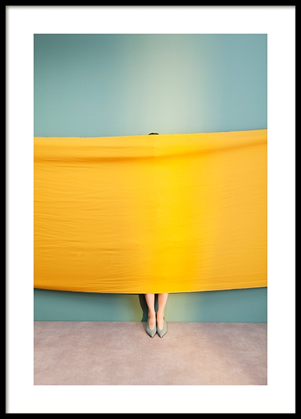 Yellow Fabric Poster in the group Posters & Prints / Photography at Desenio AB (13550)