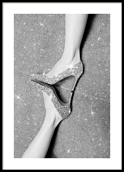 Glitter Shoes Poster