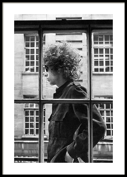 Bob Dylan Poster in the group Posters & Prints / Iconic photos at Desenio AB (13582)