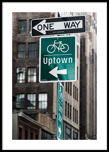 Uptown Poster in the group  at Desenio AB (13657)