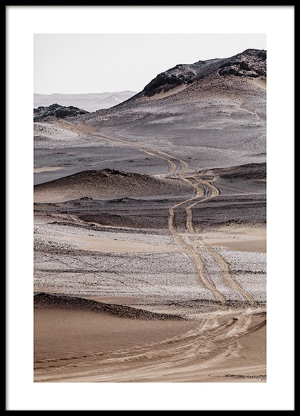 Gobi Desert Poster in the group Posters & Prints / Nature / Deserts at Desenio AB (13682)