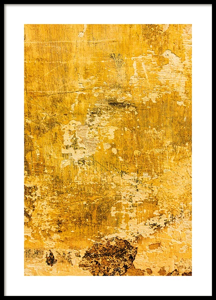 Yellow Wall Poster in the group Posters & Prints / Photography at Desenio AB (13748)