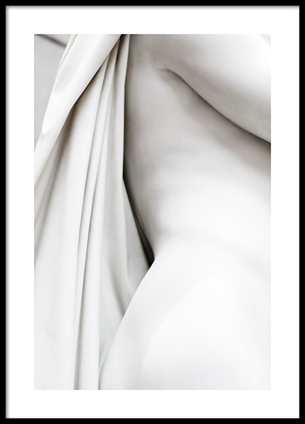 White Statue No1 Poster in the group  at Desenio AB (13877)
