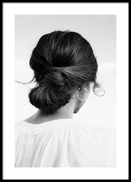 Hair Bun Poster in the group Posters & Prints / Photography at Desenio AB (13910)