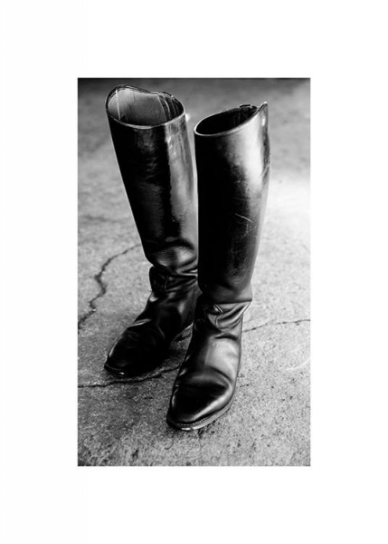 Riding Boots Poster in the group Posters & Prints / Photography at Desenio AB (13915)