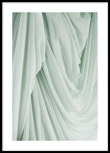 Green Fabric Poster in the group Posters & Prints / Photography at Desenio AB (13976)