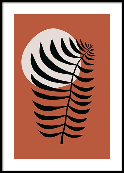 Graphic Houseplant No1 Poster in the group Posters & Prints / Graphical at Desenio AB (14077)
