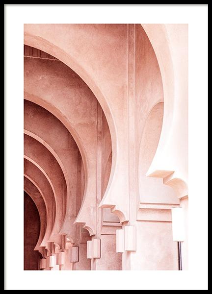 Gradient Pink Poster