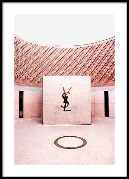 YSL Fashion Museum Poster