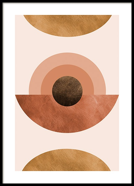 Abstract Terracotta Poster in the group Posters & Prints / Graphical at Desenio AB (14327)