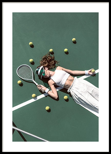 Game, Set, Match Poster in the group Posters & Prints / Photography at Desenio AB (14343)