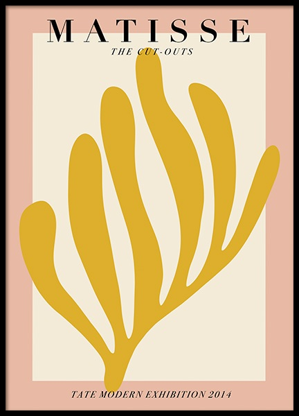 Matisse Cutouts Poster in the group Posters & Prints / Graphical at Desenio AB (14498)