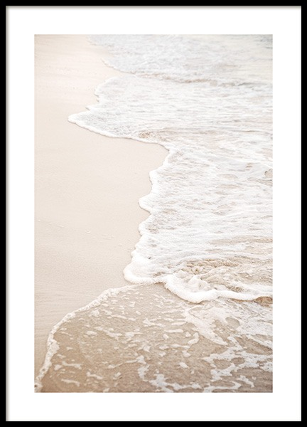 Waves of Silence Poster in the group Posters & Prints / Nature at Desenio AB (14500)