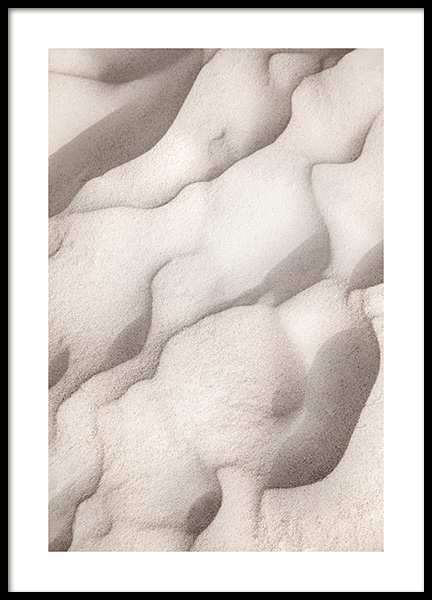 Sand Shapes Poster