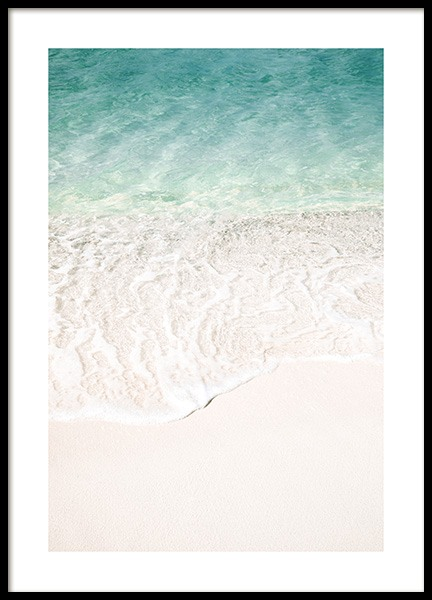 Ocean Touch Poster in the group Posters & Prints / Studio Collections / Studio Azur at Desenio AB (14518)